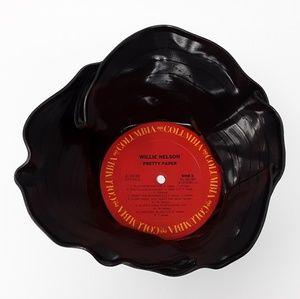 Willie Nelson ♻️🎶 Vinyl Record Album Bowl